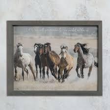let us run with verance framed art