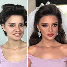 brides look pletely unrecognisable