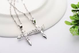 couple pendant necklaces jewelry
