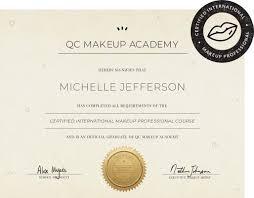 certified makeup artist courses
