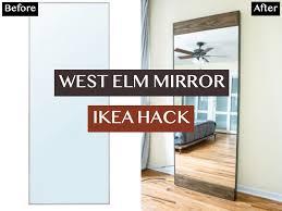 west elm mirror ikea victoria cheng