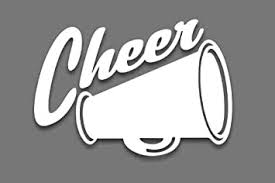 Amazon Com Cheer Megaphone Decal Sticker Cheerleading Fundraiser Fundraising Bulk 4 X 5 5 Wholesale Qty 25 Pack Stickers For Car Truck Suv Window Glass Automotive