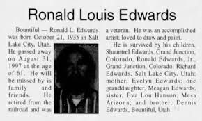 Ronald Louis Edwards obituary - Newspapers.com