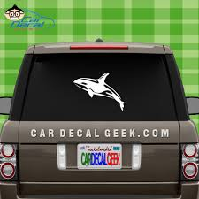 Orca Killer Whale Car Window Decal Sticker Whale Decals