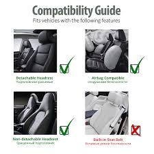car suv synthetic leather front 2 seat
