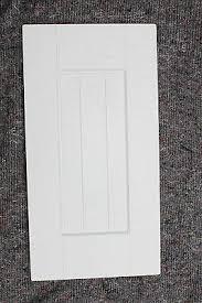 shaker matt white paintable kitchen
