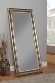 full mirror leaning floor length