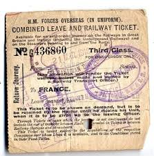 WWI, March 1918 - Combined Leave and Railway Ticket for Pt Ivan Bowman of  Kitchener. - The Record | War, Family tree help, Soldier