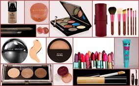 list of makeup s for bride