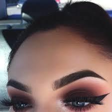 dark smokey eye makeup winged eyes min