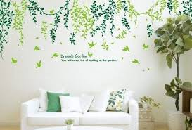 Leaves Wall Decal Vinyl Wall Art Nature Wall Wall Decals
