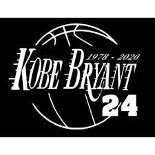 Oracal Kobe Bryant La Lakers 24 Vinyl Decal Window Laptop Sticker