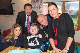 Princess Beatrice visits The Children's Trust charity for children with  brain injury   Your Local Guardian