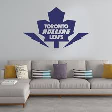 Beautiful Toronto Maple Leafs Wall Sticker Pvc Wall Art Stickers Modern Fashion Wallsticker For Kids Room Living Room Home Decor Wall Decal Home Decor Wish