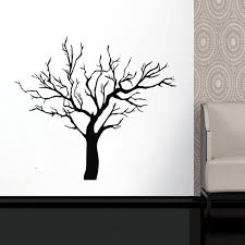 Tree Wall Decal Tree Branch Wall Sticker Tree Wall Decor Etsy