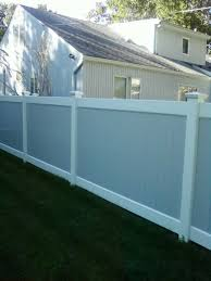 Two Tone Vinyl Pvc Fences Fence Gates Railings Liberty Fence Railing