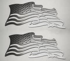 American Car Craft Emblems American Flag Acc4461