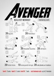 super hero workouts
