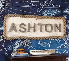 galvanized wall letters pottery barn kids