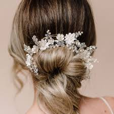 handmade bridal hair vines browbands