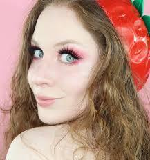eyeshadow palette pink makeup tutorial
