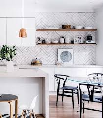 15 edgy geometric kitchen backsplashes