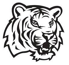 Ncaa0765 Louisiana State Lsu Tigers Head Die Cut Vinyl Graphic Decal Sticker