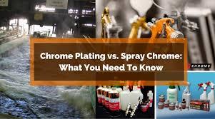 chrome plating vs spray chrome