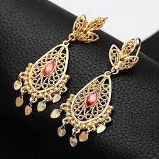big size indian jewelry dangle earrings