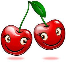 Smiling Objects - Cherries by mondspeer on DeviantArt
