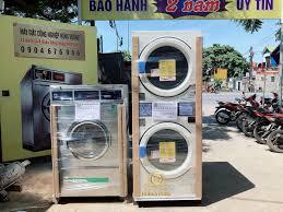 👉Máy giặt DEXTER và máy sấy SANYO lắp... - Máy Giặt Công Nghiệp Hùng Vương
