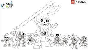 Lego Ninjago Coloring Pages Team Colors Characters Games Kai Golden Sword  Free Printable – Slavyanka