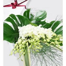 dendrobium orchids bouquet flower box