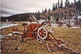 baling hay in the 1940s hay baler