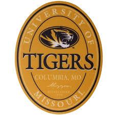 The Mizzou Store University Of Missouri Tigers Gold Sticker