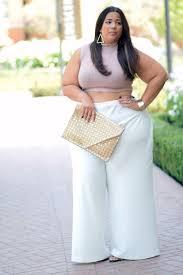 stylish ways to wear a plus size pastel