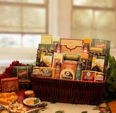 clic gourmet meat and cheese basket