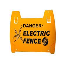 Csd Nemtek Custom Electrical Fence Danger Signs Pack Of 500