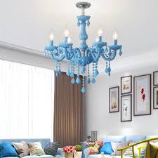 Modern Chandelier Kids Room Chandeliers Bedroom Children Nursery Princess Hanging Lamp Indoor House Sky Blue Color Girls Room Buy At The Price Of 137 63 In Aliexpress Com Imall Com