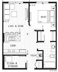 floor plans garage conversion with