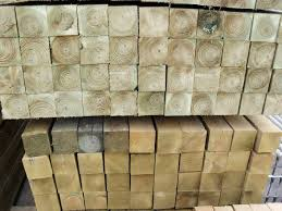 3 X3 75x75mm Pressure Treated Fence Posts 8ft Midlandscapes Codsall Stone Paving