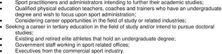 The University of Hong Kong. Master of Sports Administration (2008 / 2009)  (Course No. HS /81) Subject to Approval - PDF Free Download