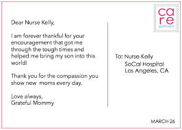 thank you nurses wonderful appreciation notes sent via