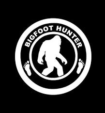 Bigfoot Sasquatch Hunter Decal Bigfoot Stickers Custom Sticker Shop