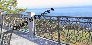 Railing Scroll Galore Decorative Aluminum Balcony Privacy Steel Fencing