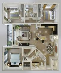 house ideas plans layout bedrooms 60