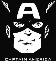 Captain America Die Cut Vinyl Sticker Decal Sticky Addiction