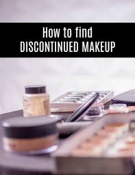 how to find discontinued makeup and