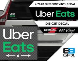 Uber Decal Etsy