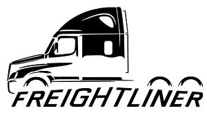 Freightliner Casacadia Big Rig 18 Wheeler Truck Outline Sticker Decal Wall Graph Ebay